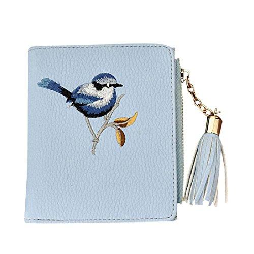 gland embrayages sac broderie monnaie Sansee Porte oiseau portefeuille Femmes YwqZXpxB