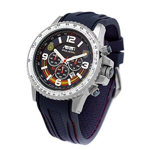 Reloj Aviador AV-1106 Policía UIP Edición Especial de la UIP (Unidad de Intervención Policial) del Cuerpo Nacional de Policía, conmemorando el 25º ...