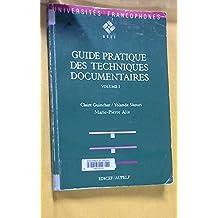 Guide pratique des techniques documentaires