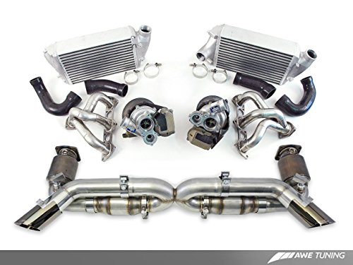 AWE Tuning 8610-11008 750R Turbo Package (with muffler, exchange turbos, for manual cars)