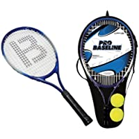 2 x Aluminium Tennis Rackets With 2 Tennis Balls and Carry Case Cover EAN/MPN/UPC/ISBN: 5031470036454