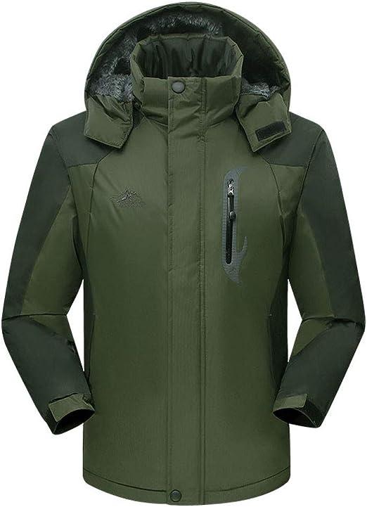 Men/'S Softshell Waterproof Windproof Jacket Hiking Sport Fleece Jackets M-3XL