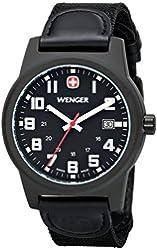 Wenger Men's Classic Field Watch with Nylon Bracelet