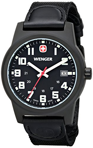 Wenger-Mens-72815-Analog-Display-Swiss-Quartz-Black-Watch