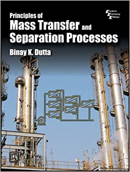 Book Principles of Mass Transfer and Separation Process
