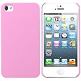 WOW Imagine(TM) Rubberised Matte Hard Case Back Cover for Apple iPhone 4 / 4s (Baby Pink)
