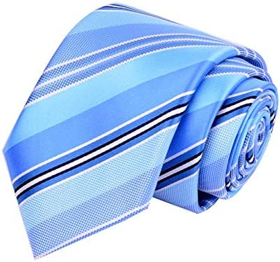 YXN Corbatas de Rayas/Corbatas para Hombre/Corbata de Vestir de ...