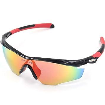 WMYY Gafas De Ciclismo Montar Gafas UV400 Luz Polarizada Anti-Reflejo Reduce La Fatiga Ocular