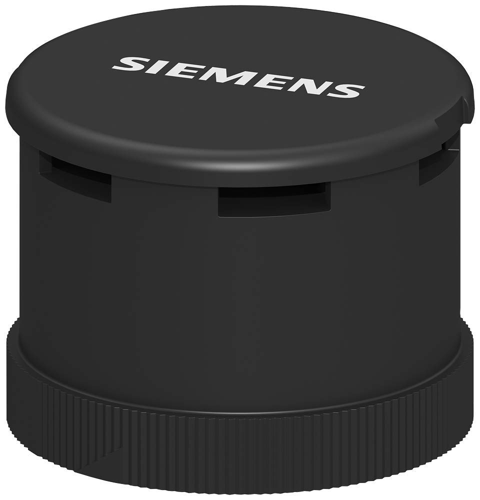 Siemens 8WD44 20-0EA Sirius Signal Column Accoustic Element Pulsating or Continuous 24VDC Voltage IP65 Protection 108 dB Busser Element Thermoplastic Enclosure 70mm Diameter