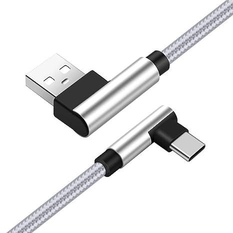 UGI Tipo C Doble L Cable de 90 Grados Cargador Ángulo Recto ...