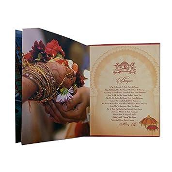 Nsc Shagun Design Wedding Invitation Card For Hindu Marriage