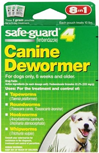 8 In 1 Safe Guard Canine DeWormer For Small Dogs, 1-Gram by Excel (Image #1)