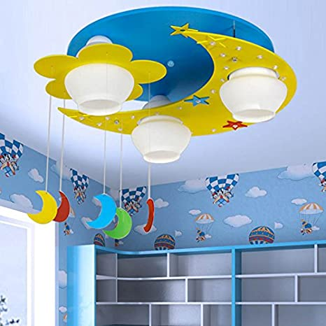 CLG-FLY lámpara de techo para niños niñas dormitorio ...