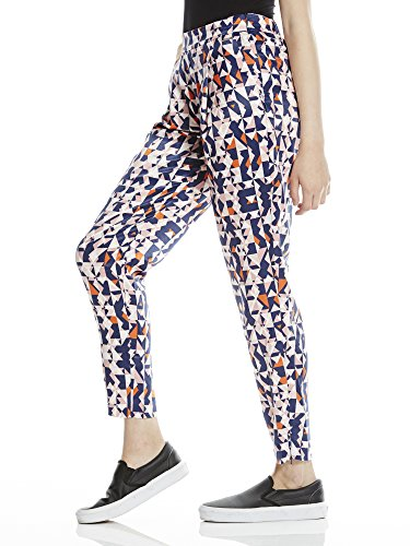 Bench Tapered Trousers Aop, Pantalones para Mujer Mehrfarbig (Off White CR003)