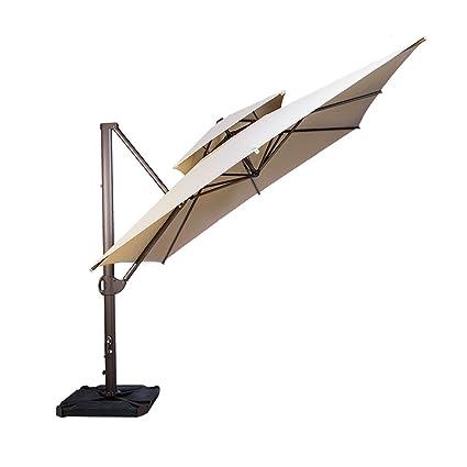 Amazon Com Sorara 10 By 10 Ft Square Offset Cantilever Umbrella