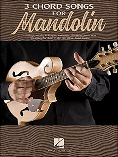 Amazon.com: 3 Chord Songs for Mandolin (9781540005700): Hal Leonard ...