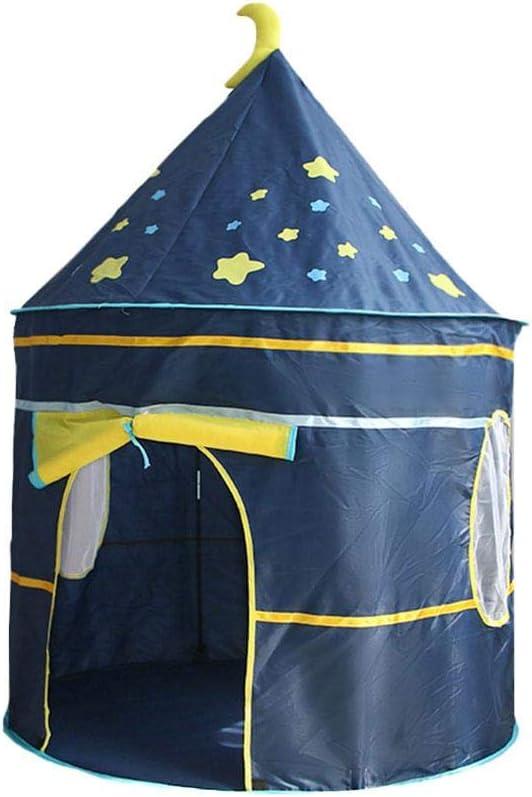 rosemaryrose Tienda Campaña Infantil Casitas Infantiles Tela Kids Play Tent Toys Niños Yurt Style Tent Niños Playhouse Castle Play Tent -para Juegos Interiores Y Exteriores