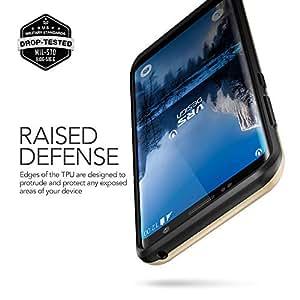VRS Design Samsung Galaxy S8 High Pro Shield cover/case - Shine Gold