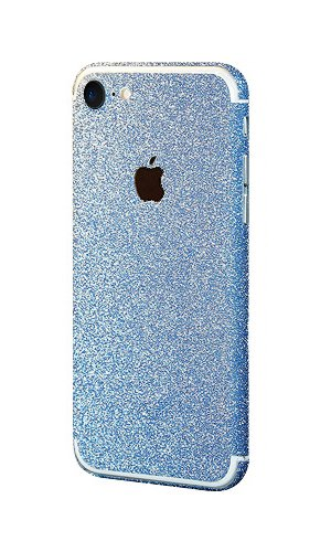 watch 4fcfb c3fcf PaLus Luxury iPhone 7 Glitter Bling Body Skin Stickers + Suede Cloth  (iPhone 7, Blue)