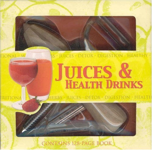 Juices & Health Drinks [With Mini Frother & Zester and Measuring Spoons]