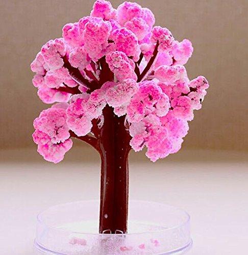 WuKong Magic Flowering Paper Tree Cherry Blossom Tree Creative Christmas Decoration Tree Christmas ()
