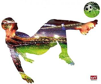 1art1 88408 Fussball Fussballer Fallruckzieher Wand Tattoo 120 X 82 Cm