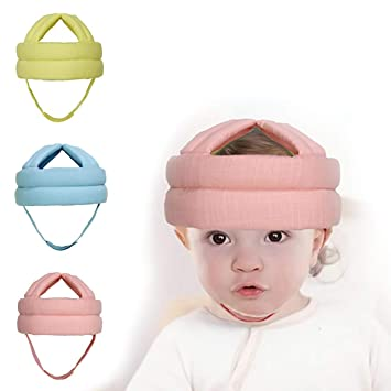 Mother & Kids Adjustable Baby Head Protection Pad Cap Kids Toddler Breathable Sponge Anti-collision Protective Hat Child Comfort Safety Helmet