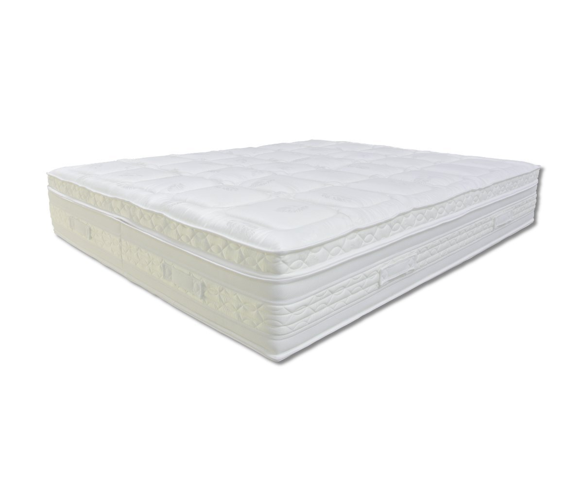 Baldiflex - colchón de Matrimonio de Seda Pluma 1600 resortes + Placas de Memory X CUS. Incluido Silver Safe: Amazon.es: Hogar