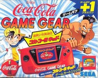 ゲームギア本体 コカコーラ限定バージョン B00RE8IDCS