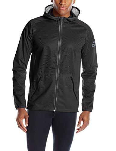 adidas Performance  Men's Climastorm Jacket, Medium, Solid Black