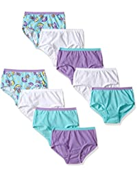Fruit of the Loom girls Little Girls 9pk Assorted Brief
