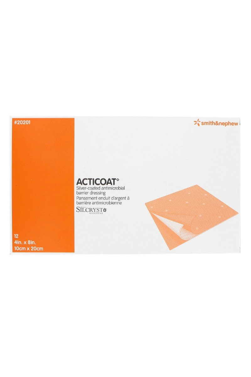 Acticoat Burn Dressing (4''x8'') (Box of 12)
