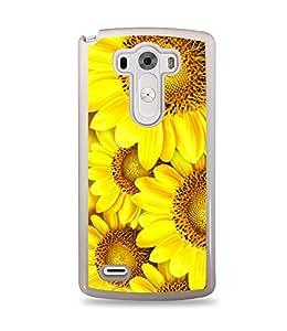 Sunflower White Hardshell Case for LG G3