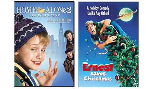 Ernest Saves Christmas & Home Alone 2 2-DVD Christmas Bundle -