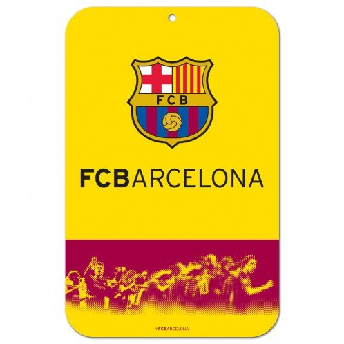 Official International Soccer Fan Shop Authentic International Fan Sign (FC Barcelona)