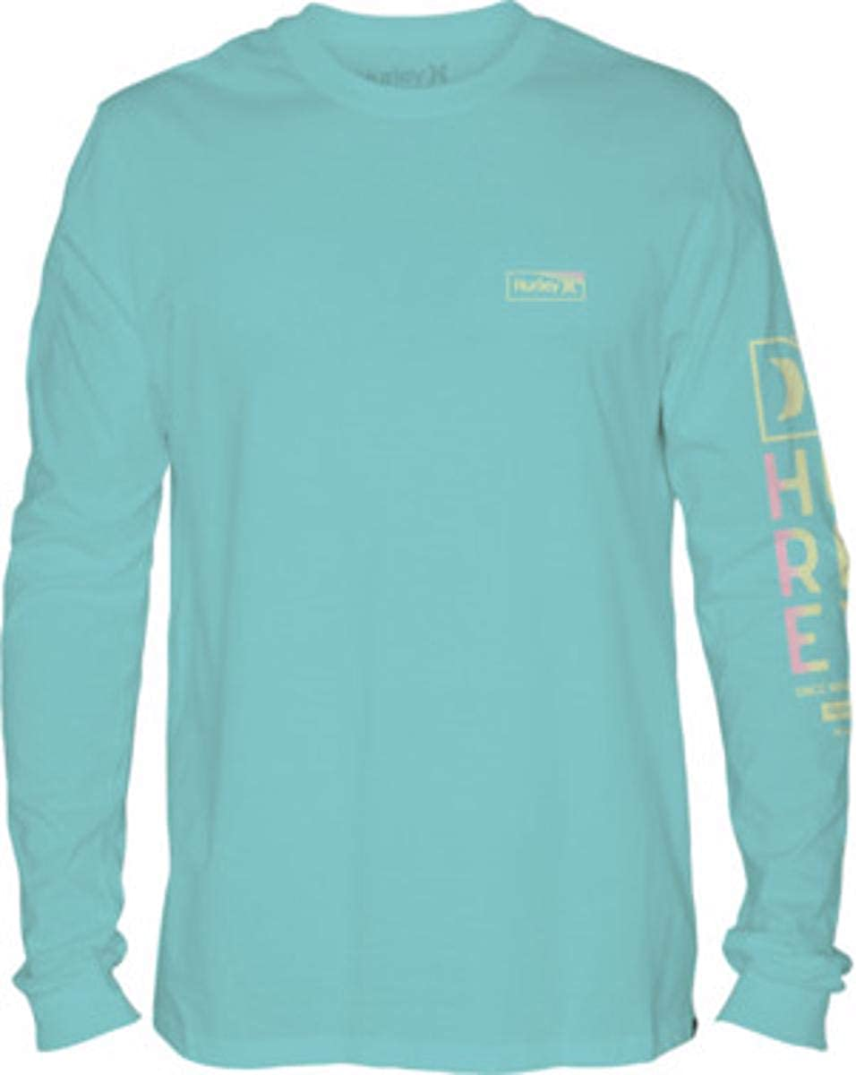 Hurley Mens One /& Only Gradiate Long Sleeve Tshirt
