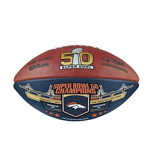 Wilson ''The Duke'' NFL Super Bowl Football by Wilson
