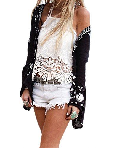 一晩精神道路RaiFu ブラウス 女性 レディース ファッション おしゃれ ビーチ シフォン カーディガン ビキニカバー 通気 夏 トップス フリーサイズ