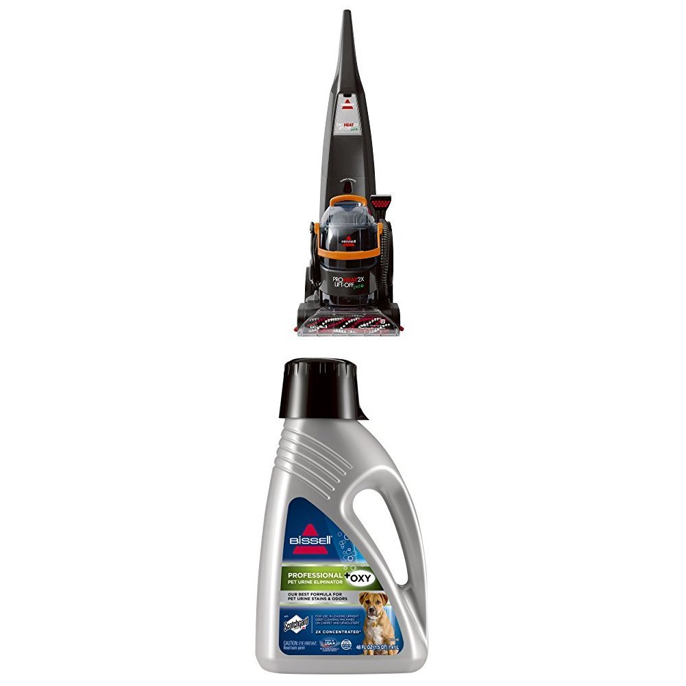 Bissell Lift Off Deep Cleaner+Pet Formula - ProHeat Lift Off + Pro Pet Eliminator by Bissell