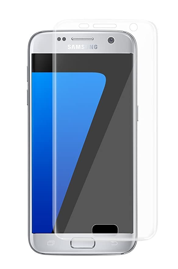 VAPIAO Panzerglasfolie [Panzerglas] kompatibel mit Samsung Galaxy S7 9H 3D Glasprotektor Clear Glas 9H 3D Schutzfolie Echtgla