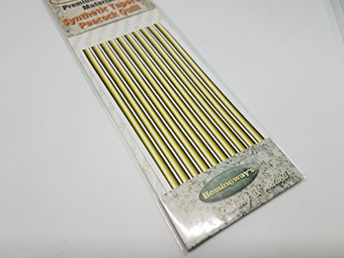 Hemingway's Synthetic Quills- Yellow Olive