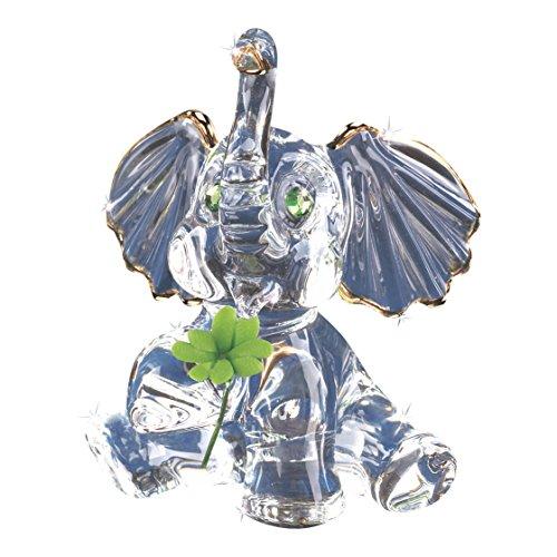 Glass Baron Lucky Elephant Figurine