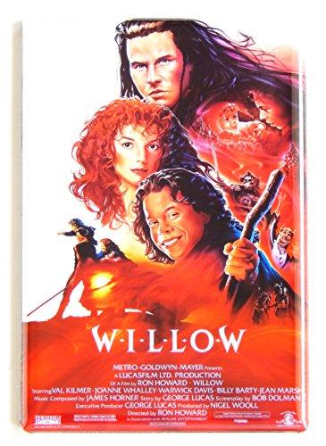 - Willow Movie Poster Fridge Magnet