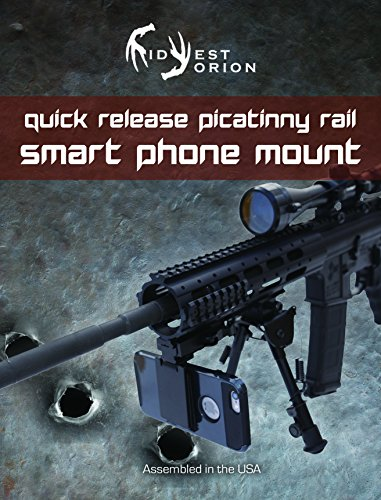 (Midwest Orion Rifle Smartphone, Phone Camera Mount for Assault,Tactical, Rail Mounted)