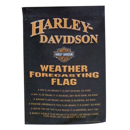 HD Harley-Davidson Weather Forecast Garden Flag