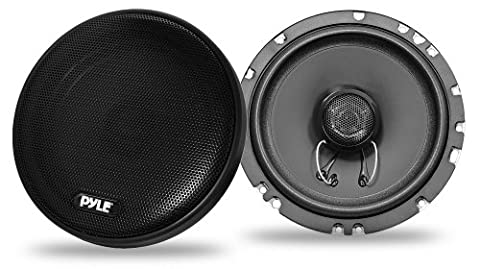 Pyle PLSL502 Pyle Plus 5.25-Inch 160 Watt Slim Mount 2-Way Coaxial Speakers - Set of 2 - Slim Mount Coaxial Speakers