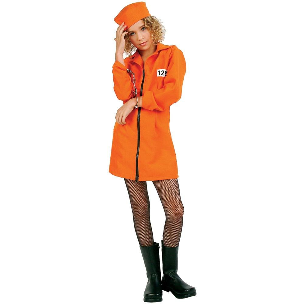 Not Guilty  orange Dress (1416) Costume