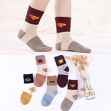 Niños ZYTAN calcetines, medias, calcetines Infantiles, de algodón puro, Grandes Niños,