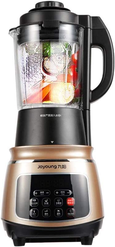 Joyoung JYL-Y15U Professional Grade Countertop Blender, Soy Milk Maker, Juicer, Food Processor, Makes Warm Drink at 47 Oz and Cold Drink at 60 Oz with One-Click Cleaning Function