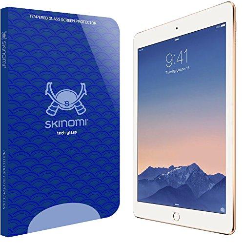 Skinomi iPad Screen Protector (iPad 9.7 2017/2018 version,iPad Pro 9.7.Air 2,Air), Tech Glass Screen Protector for Apple iPad 2017 Clear HD and 9H Hardness Ballistic Tempered Glass Shield